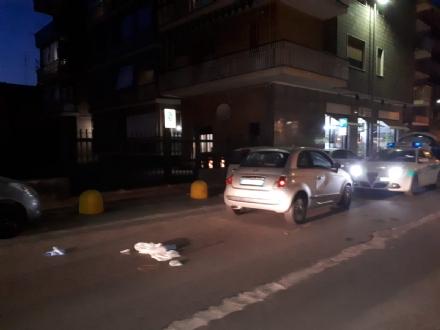 VENARIA - Donna investita da una macchina in via Picco: grave, in ospedale