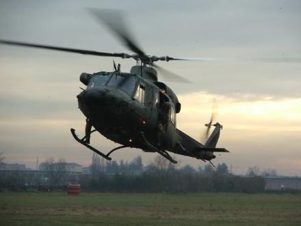 VENARIA - I militari del Gruppo Squadroni Aviazione Esercito in Val Susa