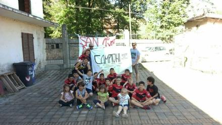 VAL DELLA TORRE - Il San Donato Under 12 ha vinto la «Oratorio Cup» 2017