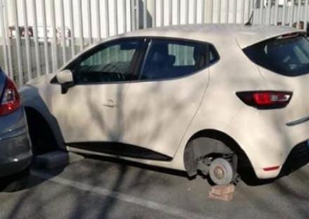 COLLEGNO - I ladri di pneumatici tornano in azione in via Magenta