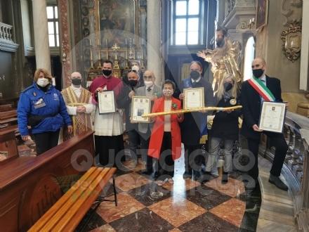 VENARIA - Festa di San Giuseppe: rinnovata lamicizia con Castronovo, Cammarata e San Giovanni Gemini