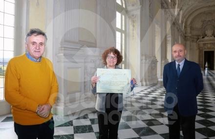 VENARIA - Reggia accessibile e fruibile da tutti: lUnione Italiana Ciechi premia Silvia Varetto