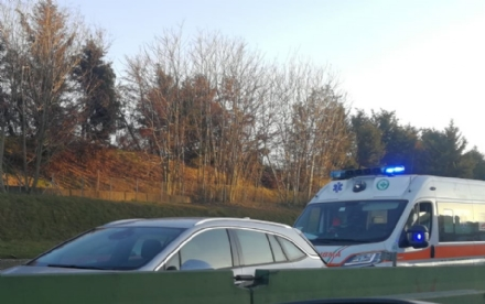 PIANEZZA-COLLEGNO - Incidente in tangenziale: due feriti e code chilometriche