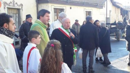 DRUENTO - Celebrata la festa di SantAntonio Abate e San Sebastiano