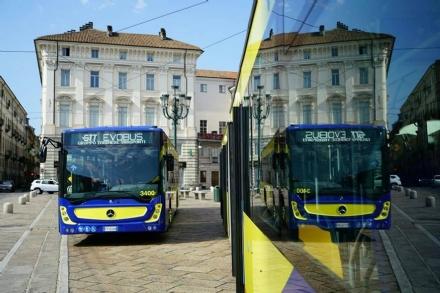 GRUGLIASCO - Ecco i nuovi autobus di Gtt: saranno utilizzati anche sulla linea 56