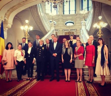 DRUENTO - Mihaela Gabor dopo lincontro con il presidente della Romania: «Emozione unica»