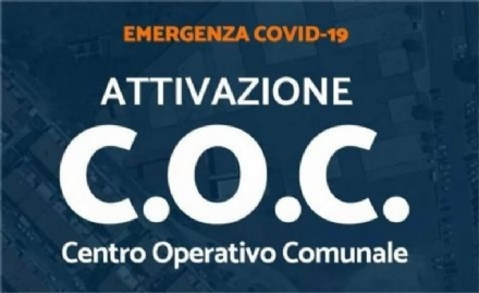 VENARIA - Covid: riattivato il Centro Operativo Comunale. Giulivi: «Volontari in aiuto di chi è in difficoltà»