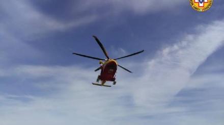 RIVOLI - Colpito da pezzi di ghiaccio mentre è in montagna: ferito un 44enne rivolese