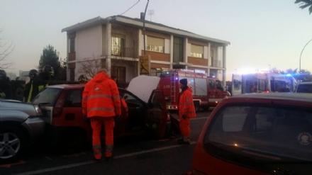 CASELLE - Ancora un incidente in strada Aeroporto: la protesta dei cittadini