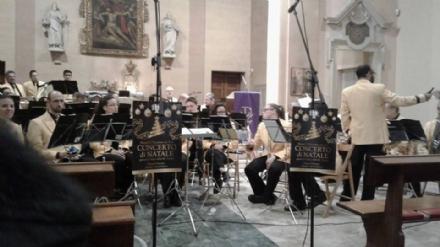 DRUENTO - Successo per il Concerto di Natale del corpo musicale Santa Cecilia