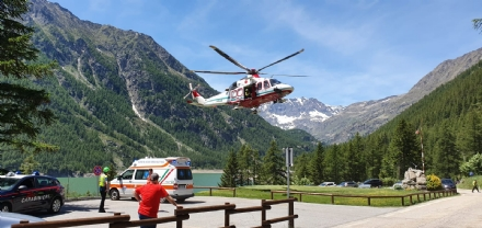 BORGARO - Colto da infarto mentre è in villeggiatura: 74enne salvato dal Soccorso Alpino