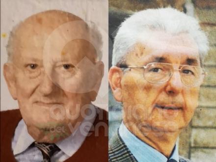 VENARIA - Giorni di lutto in città: addio a Lorenzo Campo e a Renato Fabris