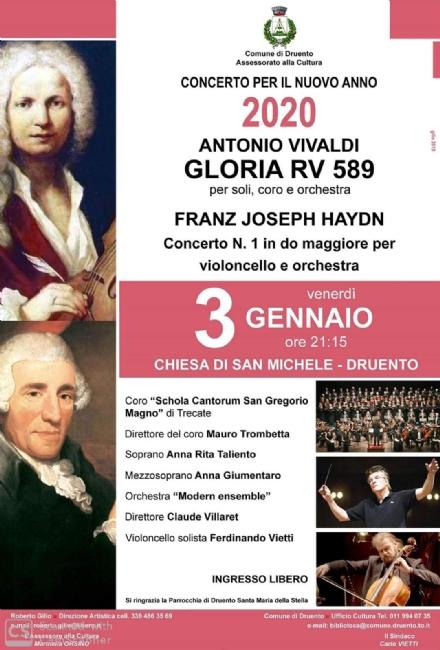 DRUENTO - Il Concerto dinizio anno sulle note di Vivaldi e di Haydn