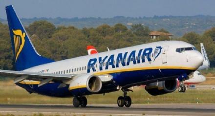 CASELLE - Ripartono i voli Ryanair verso Bari, Catania, Palermo, Brindisi, Londra e la Spagna
