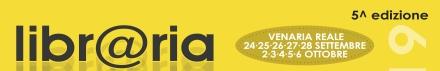 VENARIA - «Libr@ria» 2019: gli appuntamenti fino a sabato 28 settembre