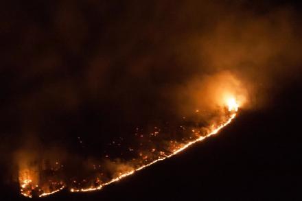 AMBIENTE - Siccità: disposto lo stato di massima pericolosità incendi