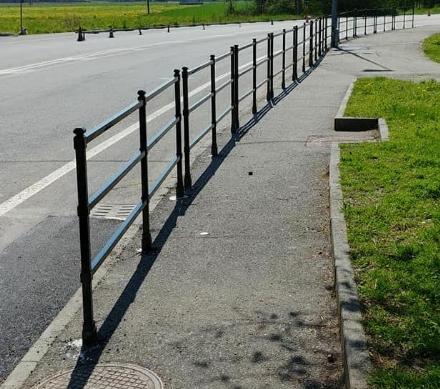BORGARO - Operazione sicurezza in via Italia: ecco i dossi e un percorso pedonale