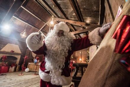 RIVOLI - Domani torna il Villaggio di Babbo Natale