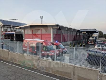 GRUGLIASCO - Il camion esplode: operaio ustionato in via San Paolo, in gravi condizioni al Cto