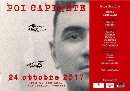 VENARIA - Questa sera allAnpi lo spettacolo teatrale dedicato ad Andrea Mensa