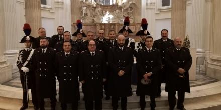VENARIA - I Carabinieri hanno reso omaggio alla loro Patrona, la Virgo Fidelis - LE FOTO