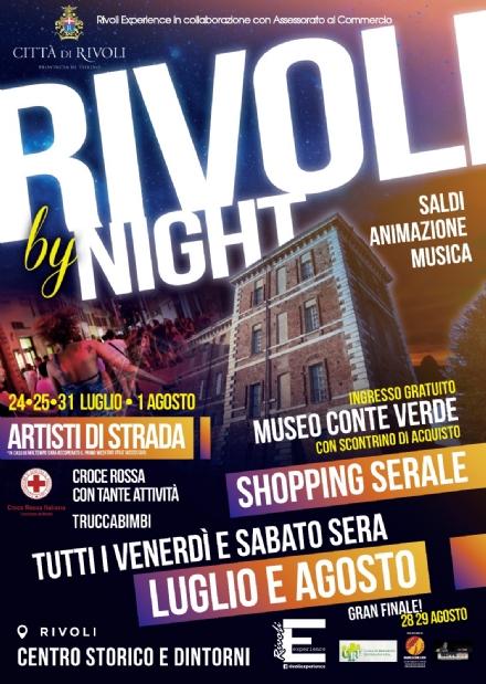 RIVOLI - Parte «Rivoli by Night»: musica animazione e shopping nel centro storico