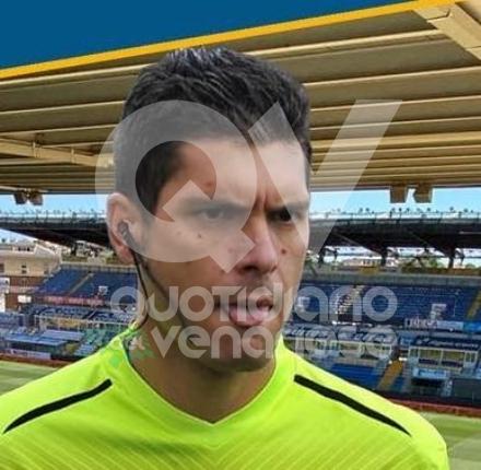 COLLEGNO - Larbitro Riccardo Annaloro debutta in serie A: sarà assistente in Parma-Spezia