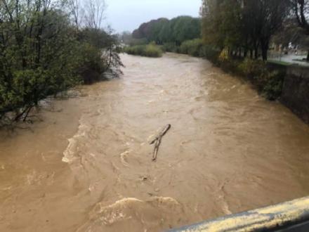 ALLERTA ROSSA MALTEMPO - Notte di controlli, fiumi e torrenti vicini ai livelli di pericolo