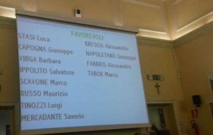 VENARIA - Il sindaco Falcone medita le dimissioni: quattro grillini votano assieme alla minoranza