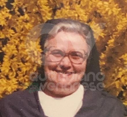 MAPPANO - La comunità deve dire addio a Suor Silvana Garbin