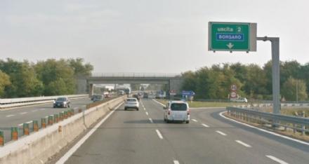 TORINO-CASELLE - Nuovo asfalto: dal 27 al 31 agosto cantieri notturni sul raccordo