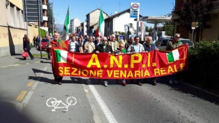 VENARIA - Domani mattina la celebrazione del 25 aprile, Festa di Liberazione