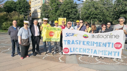 VENARIA - Al Giro dItalia la protesta dei lavoratori Italia On Line