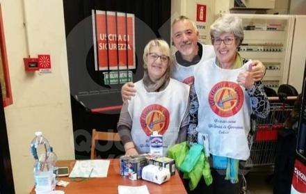 VENARIA - Colletta alimentare degli «Amici di Giovanni»: domattina allEkom
