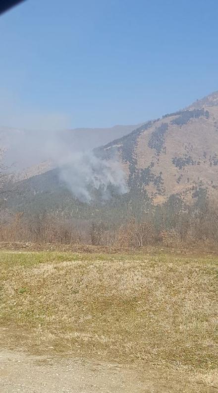 VAL DELLA TORRE - I boschi della Valle bruciano ancora