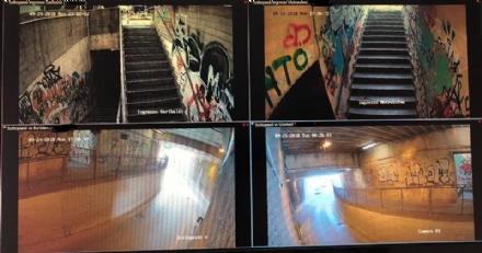 VENARIA - Sicurezza: telecamere attive nel sottopasso di via Motrassino