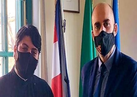 VENARIA - Il sindaco Fabio Giulivi incontra la comunità ortodossa rumena