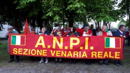 VENARIA - Celebrato il 25 aprile: tutte le fotografie della giornata.