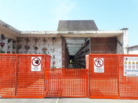 VENARIA - Lultimo «regalo» di Falcone: messa in sicurezza e ampliamento dei cimiteri
