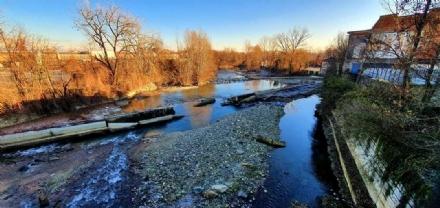 VENARIA - Dal 1 febbraio ripartono i lavori del mini impianto idroelettrico sul Ceronda