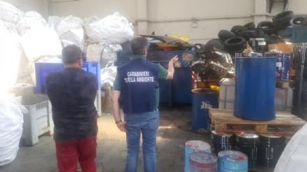 PIANEZZA - Maxi sequestro di rifiuti pericolosi: denunciato il titolare di una azienda