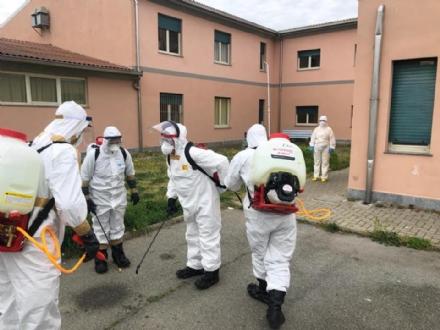 CORONAVIRUS - Iniziate le operazioni di sanificazione delle Rsa da parte della Taurinense