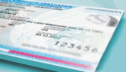 MAPPANO - Carta didentità elettronica: il nuovo documento a partire dal 1° aprile