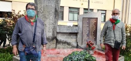 VENARIA - LAnpi omaggia i suoi partigiani nella giornata a loro dedicata