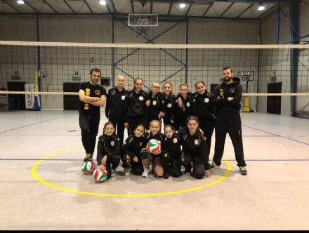 PALLAVOLO - L'Under 12 della Komunicativa Labor Volley: il futuro parla borgarese