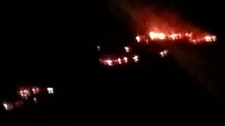 GIVOLETTO-VAL DELLA TORRE - A fuoco delle sterpaglie: torna la paura in Valle