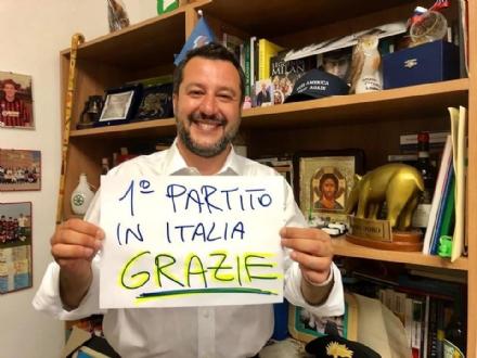 ELEZIONI EUROPEE - Vince la Lega di Salvini: solo a Grugliasco e Collegno è avanti il Pd