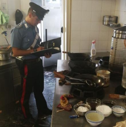 LANZO - Ispezione Asl e carabinieri: ristorante cinese nei guai