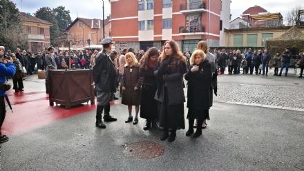 VENARIA - GIORNO DELLA MEMORIA: La deportazione degli ebrei per le vie della Città