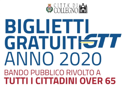 COLLEGNO - Titoli di viaggio Gtt gratis per gli over 65: le modalità per partecipare al bando
